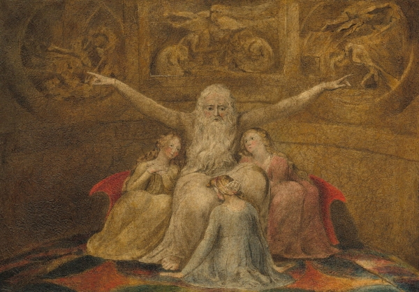 Job and His Daughters(1800)